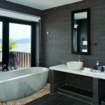 Aqua Bungalow marble bathtub Vedana Lagoon resort & spa