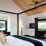 Aqua Bungalow sundeck view Vedana Lagoon resort & spa